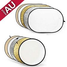 Godox RFT-06 Multi Size Collapsible Reflector Disc 5-in-1 Silver Soft Gold White