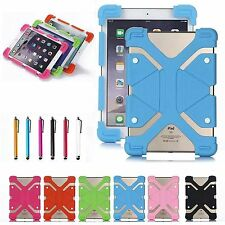 "For Samsung Galaxy 7""~10"" Tablet PC Flexible Soft Silicone Shockproof Cover Case"