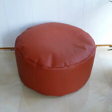 Sitting stool/Floor cushion/Faux leather/real EPS beads/In-Outdoor suitable