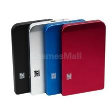 USB 2.0 SATA 2.5inch Hard Disk Drive HDD External Enclosure Case Box w USB Cable