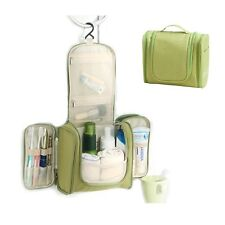 Multi-compartment Travel Cosmetic Makeup Case Pouch Bag Hanging Toiletry Bag