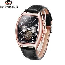 FORSINING Mens Automatic Mechanical Wrist Watch Date Month Display Flywheel H7F6
