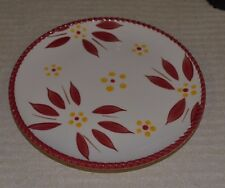 Temp-tations One Bread plate Old World Service  Dinnerware K205820 Cranberry