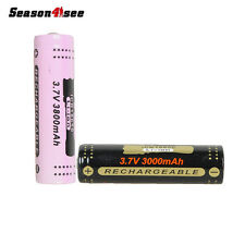 1PC GTL ICR18650 3800mAh 3.7V Rechargeable Battery for Flashlight Torch