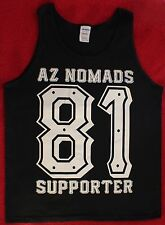 "Hells Angels Arizona Nomads - ""NEW"" - MEN'S AZ NOMADS 81 SUPPORTER TANK - BLACK"