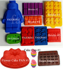 Silicone Mold Bakeware Chocolate Candy Jello Butter Mould Ice Tray for Lego Love