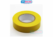 Yellow Electrical PVC Insulation Tape 19mm x 20m BS EN 60454 Electrical Work