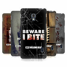 OFFICIAL AMC THE WALKING DEAD TYPOGRAPHY HARD BACK CASE FOR LG PHONES 3