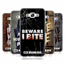 OFFICIAL AMC THE WALKING DEAD TYPOGRAPHY SOFT GEL CASE FOR SAMSUNG PHONES 3