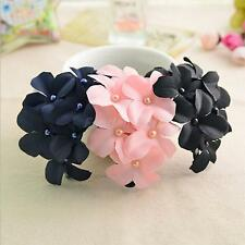 Fascinator Colorful Flower Handmade Hair Clip Claw Clamp for Women Lady Girl