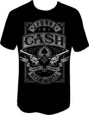 JOHNNY CASH MEAN AS HELL GUITAR CLASSIC ROCK MUSIC BAND COVER ART T SHIRT S-2XL