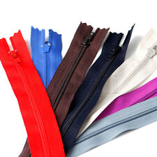 Lots of Assorted 9Inch Nylon Coil Invisible Sewing Zipper Tailor Sewer Craft MA