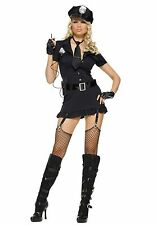 Leg Avenue 83344 Sexy Dirty Cop Costume Dress