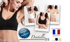 AHH BRA BRA GENIE BRA BRAS WITHOUT FITTINGS DENTELLE S M L XL XXL
