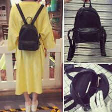 Women's Cute Mini Small Backpack Rucksack  Faux Leather Travel Casual Purse bag