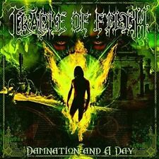 Damnation & a Day - Cradle Of Filth New & Sealed LP Free Shipping