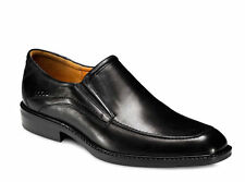 Ecco Mens 51804 Windsor Black Leather Slip On Shoe