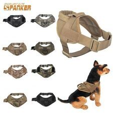 Tactical Military K9 Police Service Dog Canine Vest Harness w/Handle Small/Large