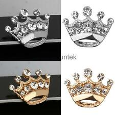 Small Exquisite Brooch Pin Tiara Making Banquet Party Shiny Decoration 12pcs