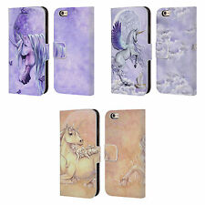 OFFICIAL SELINA FENECH UNICORNS LEATHER BOOK WALLET CASE FOR APPLE iPHONE PHONES