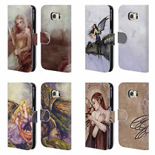 OFFICIAL SELINA FENECH DRAGONS LEATHER BOOK WALLET CASE FOR SAMSUNG PHONES 1