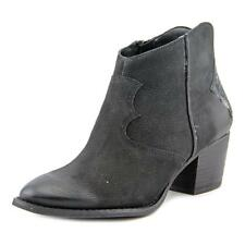 Marc Fisher Stefani Women  Round Toe Suede Black Ankle Boot