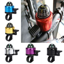 Multicolor Compass Metal Ring Handlebar Bell Sound for Bike Bicycle Accessory