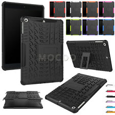 Ultrathin Duty Hybrid Rugged Shockproof Rubber Back Case For Various iPad Tablet