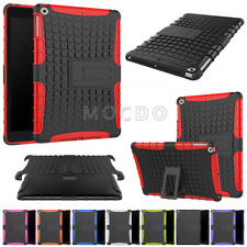 FOR SAMSUNG GALAXY TABLET HEAVY DUTY HYBRID SHOCKPROOF RUGGED RUBBER STAND COVER