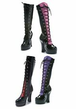 Ellie Shoes 557-BUFFY Women's 5 1/2 Inch Heel Knee High Boot With 4 Color Tongue