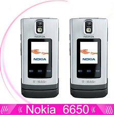 Nokia 6650 Mobile Phone 3G GSM(Unlocked)Flip Cell Phone GPS Bluetooth FM
