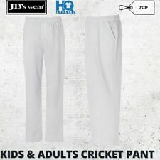 Mens Cricket Sports Pants Teamwear Activity Polyester Fashion White S M L XL 2XL