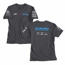 SUBARU RALLY TEAM USA OFFICIAL T-SHIRT SRT USA HIGGINS PASTRANA STI WRX JDM NEW