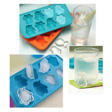 Silicone Ice Cube Jelly Pudding Chocolate Maker Tray Mold Mould Bar Party Drink