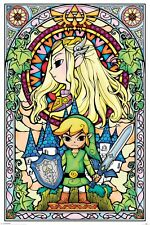 The Legend of Zelda Stained Glass Window Poster 61x91.5cm