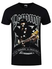 Motorhead Lemmy Iron Cross Men's Black T-shirt