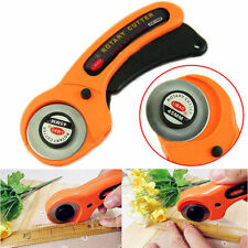 28mm 45mm Rotary Circular Hand Cutter Sewing Quilting Fabric Craft Blade Choose