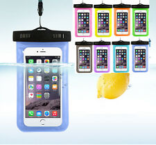 Waterproof Underwater Pouch Dry Bag Case For iPhone Cell Phone Touchscreen Strap