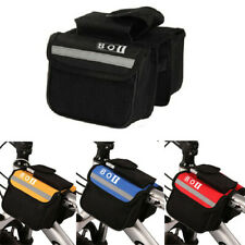 MTB Road Bike Bicycle Cycling Frame Front Tube Saddle Bag Storage Holder Pouch