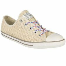 Converse A Star Womens Special Texture Ivory Shoes Sneakers Trainers All Sizes ~
