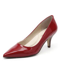 New Diana Ferrari Matisse Red Patent Women Shoes Heels Pumps Medium Heels