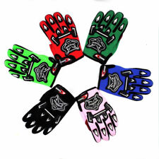 RED YOUTH RACING GLOVES MOTOCROSS MX MOTORBIKE ATV QUAD DIRT/PIT BIKE KIDS