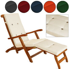 Cushion Pads Deck Chair Sun-Chair Reclining Chair Lounger Water-Repellent Cover