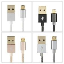 1M Alloy USB 2.0 to Double-side 5 Pin Micro Data Charging Cable for HTC Hot V5Y1
