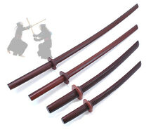 Wooden Sword Red Oak BOKKEN Kendo Training Samurai Hardwood Weapon