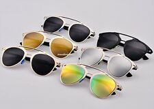 Men Women Gold Retro Cat Eye Sunglasses Classic Designer Vintage Fashion Shades