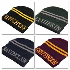 Harry Potter Gryffindor/Slytherin/Ravenclaw/Hufflepuff  Wool Hat Tuque Beanie