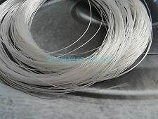 0.7mm stranded 7 X0.1 Silver Plated teflon wire diy cable audio earphone aux