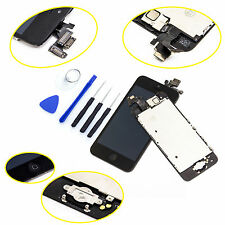 Black LCD Dispaly Screen Replacement Digitizer Assembly For iPhone 5C+Free Tools