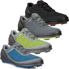 2016 ECCO Cage Evo Spikes Waterproof -Hydromax Leather Mens Golf Shoes